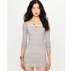 Free People | Long sleeves body con dress